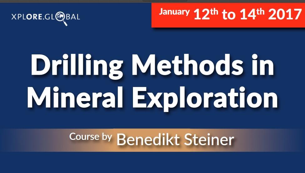 Drilling Methods Short Course – Freiberg 2017