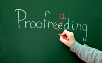 Why is proof-reading vital to your company's success?
