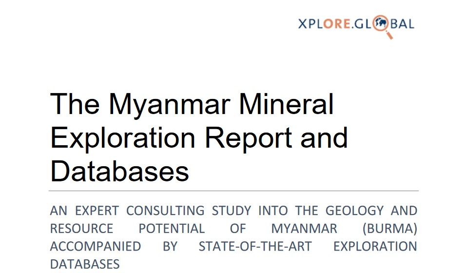 The Myanmar Mineral Exploration