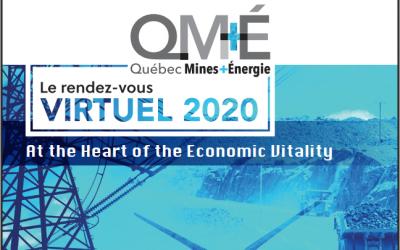 Québec Mines + Énergie conference 16-18 November 2020